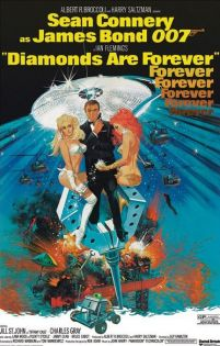 James Bond (Diamonds Are Forever) - plakat