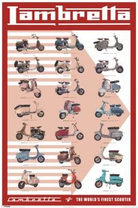 Lambretta (Evolution) - plakat