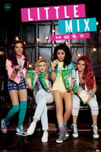 plakat z Perrie Edwards, Jesy Nelson, Leigh-Anne Pinnock, Jade Thirlwall