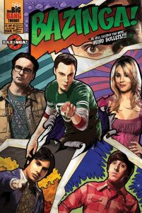 The Big Bang Theory - Comic Bazinga - plakat