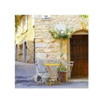 Mougins Village, France. - reprodukcja