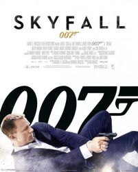 James Bond - Skyfall One Sheet - plakat