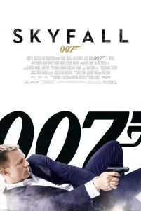 James Bond Skyfall (One Sheet White) - plakat