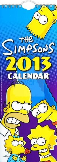 The Simpsons - kalendarz 2013
