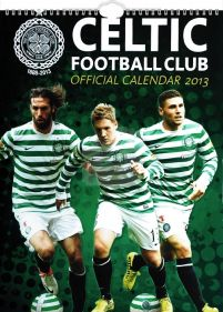 kalendarz na 2013 rok z Celtic Football Club