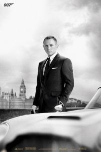 James Bond (Bond & Db5 - Skyfall) - plakat