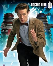 plakat z Doctor Who Daleks