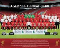 Liverpool Team Photo 12/13 - plakat 50x40 cm