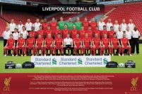 Liverpool Team Photo 12/13 - plakat dla fana