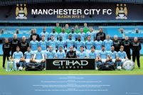 Manchester City Team Photo 12/13 - plakat