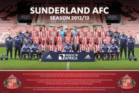 Sunderland Team Photo 12/13 - plakat