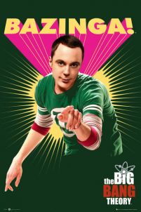 The Big Bang Theory Bazinga - plakat