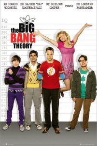 The Big Bang Theory Line Up - plakat