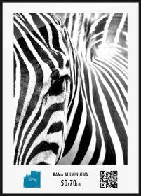 Ramka Aluminiowa Czarna Na Plakaty Lub Zdjęcia 50x70 Cm
