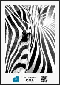 Czarna Rama Aluminium Na Duże Zdjęcia 70x100 Cm