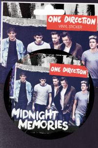 Naklejka Midnight Memories z One Direction