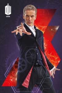 Angielski Serial Doctor Who Plakat