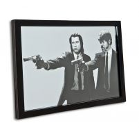 Pulp Fiction (Guns) - lustro w ramie