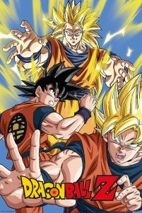 plakat Goku z Dragon Ball