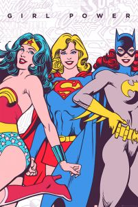 DC Comics (Girl Power) - plakat na ścianę 61x91,5 cm