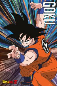 plakat anime Dragon Ball Z Goku Jump