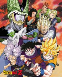 plakat Dragon Ball Z Cell Saga