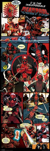 Deadpool - Marvel - plakat
