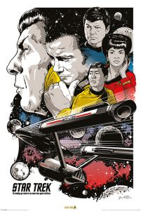 Star Trek Boldly Go - plakat