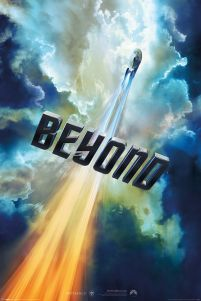 Star Trek Beyond Chmury - plakat
