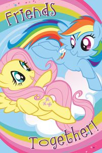My Little Pony Friends Together - plakat