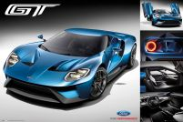 Ford GT 2016 - plakat