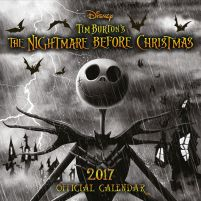 Nightmare Before Christmas Halloween - oficjalny kalendarz 2017