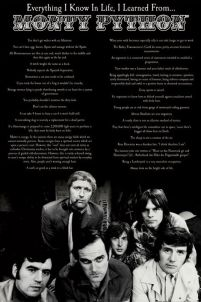 Monty Python (Everything I Know In Life) - plakat