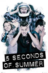 plakat ścienny 5 Seconds Of Summer Headache