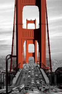 Golden Gate Bridge (San Francisco) - plakat