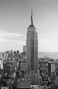 Empire State Building - fototapeta