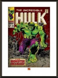 Incredible Hulk Monster Unleashed - obraz w ramie