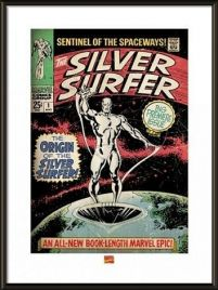 Silver Surfer The Origin - obraz w ramie