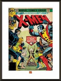 X-men 100th Issue - obraz w ramie
