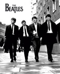 The Beatles (in London) - plakat 40x50 cm