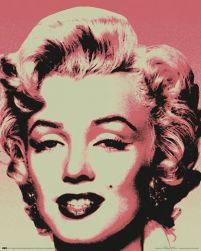 Marilyn Monroe (pop art.) - plakat z gwiazdą
