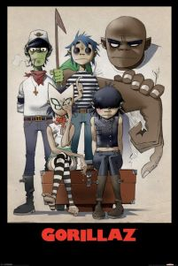 Gorillaz (All Here) - plakat