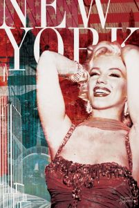 Marilyn Monroe (New York) - Bernard Of Hollywood - plakat na ścianę