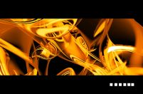 Golden abstract - fototapeta