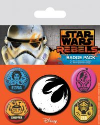 Star Wars Rebels (Rebels) - przypinki