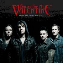 Bullet for My Valentine - kalendarz 2014