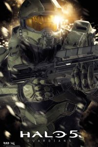 Halo 5 Master chief - plakat