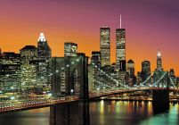New York (Brooklyn Bridge) - fototapeta