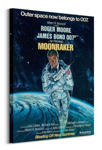 James Bond Moonraker Outer Space obraz