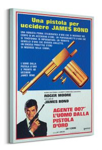james bond pistolet do zabijania - obraz na płótnie